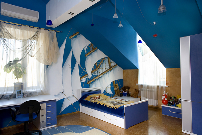 Дизайн комнаты для девочки — это